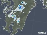 2020年08月24日の宮崎県の雨雲レーダー