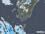 2020年08月24日の鹿児島県の雨雲レーダー