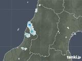 2020年08月24日の山形県の雨雲レーダー