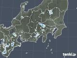 2020年08月25日の関東・甲信地方の雨雲レーダー