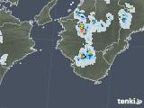 2020年08月25日の和歌山県の雨雲レーダー