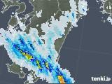2020年08月25日の宮崎県の雨雲レーダー