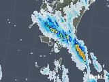 2020年08月25日の鹿児島県の雨雲レーダー