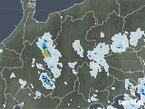 2020年08月27日の長野県の雨雲レーダー