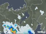 2020年08月27日の滋賀県の雨雲レーダー