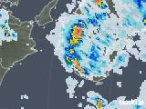 2020年08月27日の和歌山県の雨雲レーダー