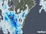 2020年08月27日の宮崎県の雨雲レーダー