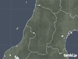 2020年08月27日の山形県の雨雲レーダー