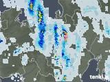 2020年08月28日の滋賀県の雨雲レーダー