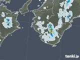 2020年08月28日の和歌山県の雨雲レーダー