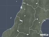 2020年08月28日の山形県の雨雲レーダー