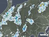2020年08月29日の長野県の雨雲レーダー