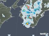 2020年08月29日の和歌山県の雨雲レーダー