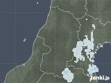 2020年09月02日の山形県の雨雲レーダー