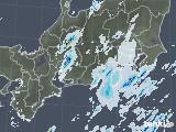 2020年09月08日の東海地方の雨雲レーダー