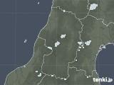 2020年09月08日の山形県の雨雲レーダー