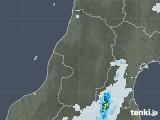 2020年09月09日の山形県の雨雲レーダー
