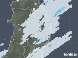 2020年09月10日の岩手県の雨雲レーダー