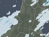 2020年09月10日の山形県の雨雲レーダー
