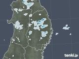 2020年09月11日の岩手県の雨雲レーダー