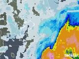 2020年09月12日の千葉県の雨雲レーダー