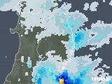 2020年09月12日の岩手県の雨雲レーダー