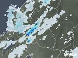 2020年09月13日の岐阜県の雨雲レーダー
