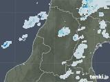 2020年09月15日の山形県の雨雲レーダー