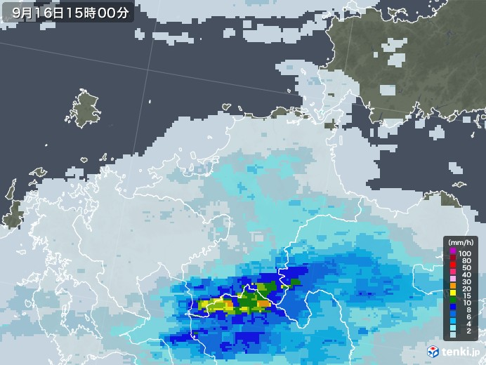 雨雲 レーダー 札幌
