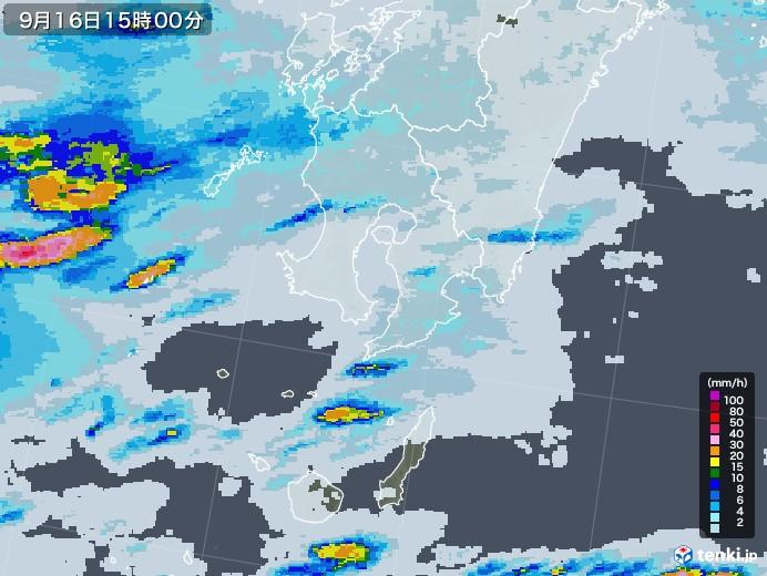 鹿児島 天気 雨雲 レーダー