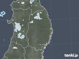 2020年09月16日の岩手県の雨雲レーダー