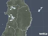 2020年09月17日の岩手県の雨雲レーダー