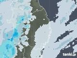 2020年09月18日の岩手県の雨雲レーダー