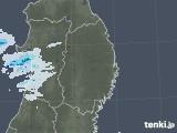 2020年09月19日の岩手県の雨雲レーダー