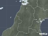 2020年09月19日の山形県の雨雲レーダー