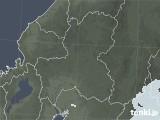 2020年09月20日の岐阜県の雨雲レーダー