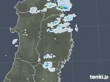 2020年09月21日の岩手県の雨雲レーダー