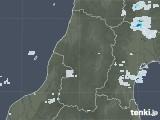 2020年09月21日の山形県の雨雲レーダー