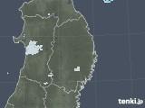 2020年09月22日の岩手県の雨雲レーダー