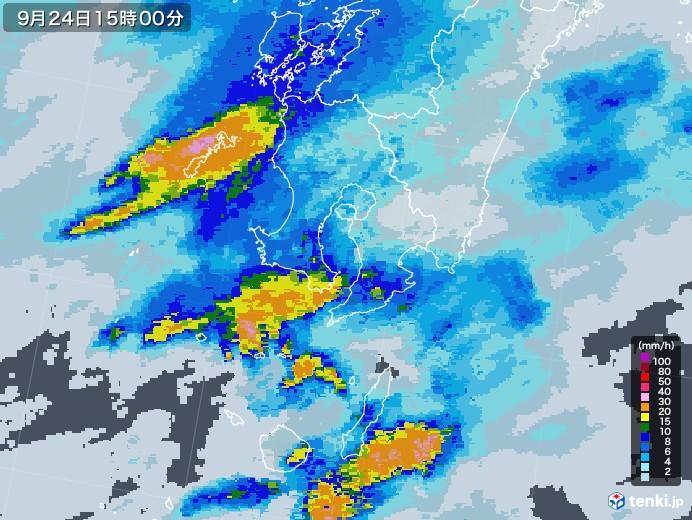 鹿児島 雨雲 レーダー