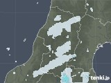 2020年09月24日の山形県の雨雲レーダー