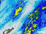 2020年09月25日の岐阜県の雨雲レーダー