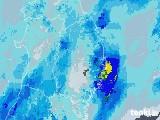 2020年09月25日の岩手県の雨雲レーダー
