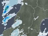 2020年09月26日の山形県の雨雲レーダー