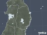 2020年09月30日の岩手県の雨雲レーダー
