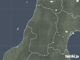 2020年09月30日の山形県の雨雲レーダー