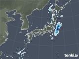2020年10月01日の雨雲レーダー