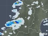 2020年10月01日の山形県の雨雲レーダー