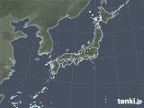 2020年10月02日の雨雲レーダー