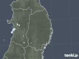 2020年10月02日の岩手県の雨雲レーダー